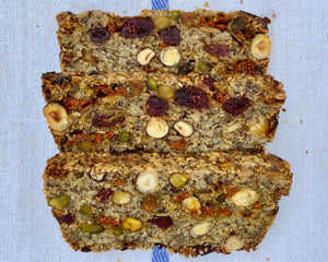 Seed, Hazelnut, Cranberry, Goji Berry and Oat Loaf