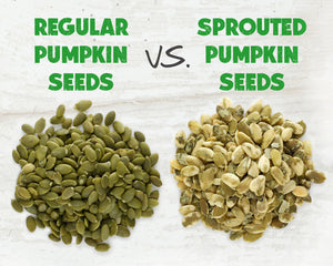 Sprouted Pumpkin Seeds vs. Regular Pumpkin Seeds