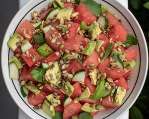 Watermelon & Avocado Salad