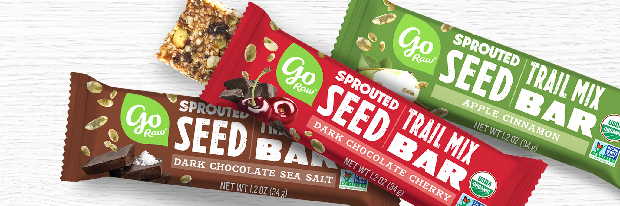 Go Raw Sprouted Trail Mix Bars