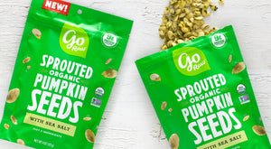 Go Raw Sprouted Pumpkin Snacking Seeds