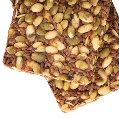 Pumpkin Seed Sprouted Bars