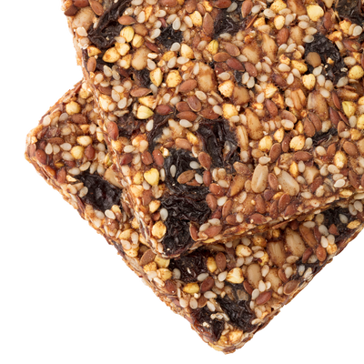 Raisin Sunflower Sprouted Bars