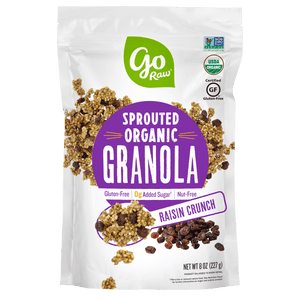 Raisin Crunch Sprouted Granola - 6 Bags, 8oz Each