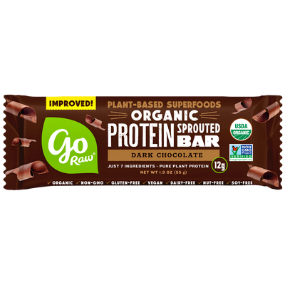 Go Raw Dark Chocolate Sprouted Protein Bars