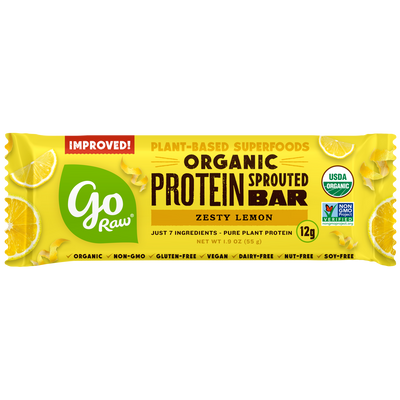 Go Raw Zesty Lemon Sprouted Protein Bars
