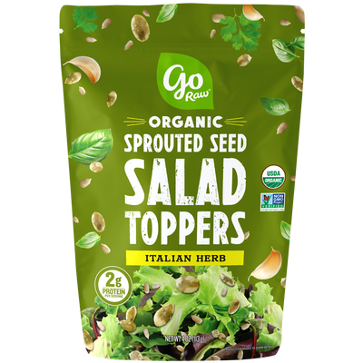 Go Raw Italian Herb Sprouted Salad Toppers