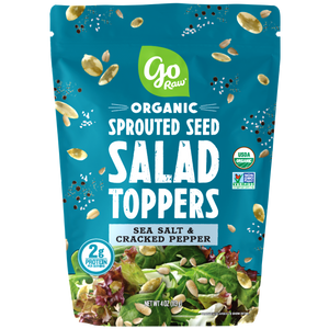 Go Raw Sea Salt & Cracked Pepper Sprouted Salad Toppers