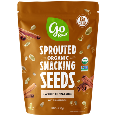 Go Raw Sweet Cinnamon Sprouted Snacking Seeds