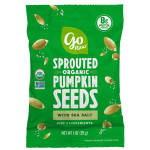 Go Raw Pumpkin 1oz Single Serve Sprouted Seeds