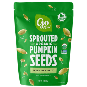 Go Raw Pumpkin Sprouted Snacking Seeds