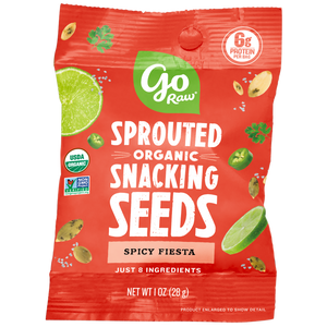 Go Raw Spicy Fiesta Single Serve Sprouted Seeds