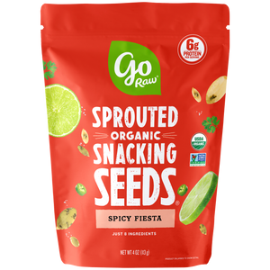 Go Raw Spicy Fiesta Sprouted Snacking Seeds