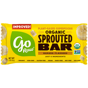 Go Raw Banana Flaxseed Sprouted Bars