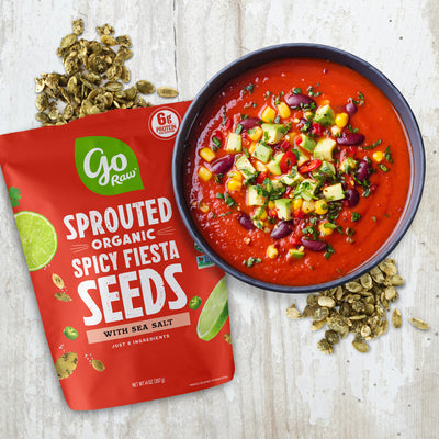 Sprouted Spicy Fiesta Seeds - 6 Bags, 14oz Each
