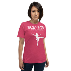Elevate Dance Ministry Short-Sleeve Unisex T-Shirt - Dancer 01