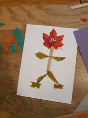 October leaf craft