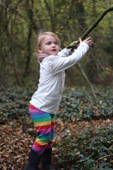 woodland forest school playing outdoors
