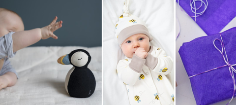 baby gift service free wrapping eco