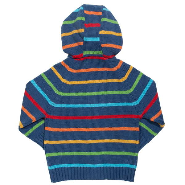 Kite Stripy Knit Hoody
