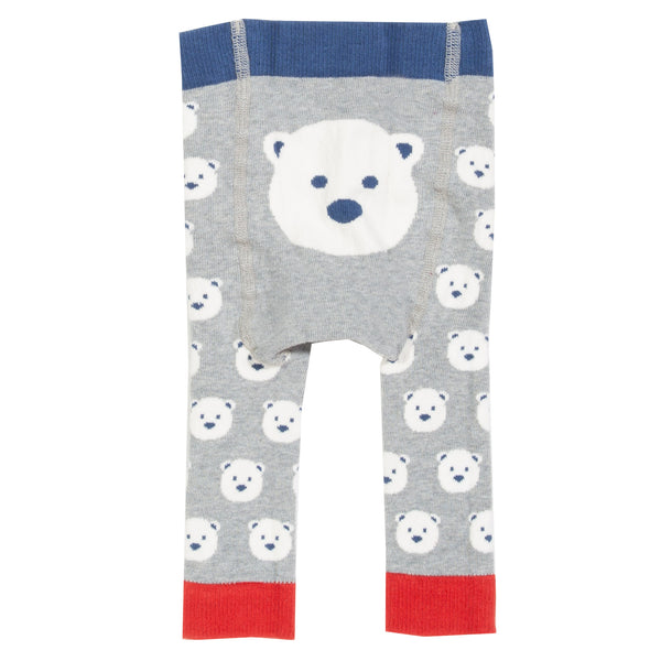 Kite Snow bear knit leggings