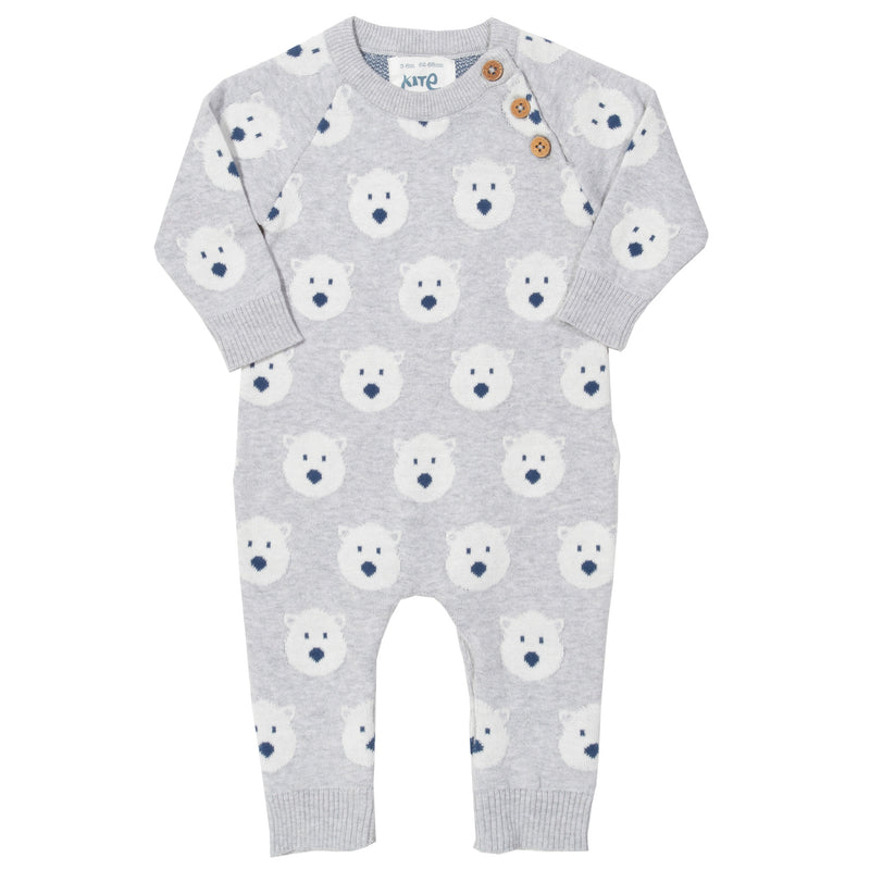 Kite Snow Bear Knit Romper