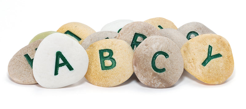 Alphabet Pebbles - Uppercase - Small Eco Steps