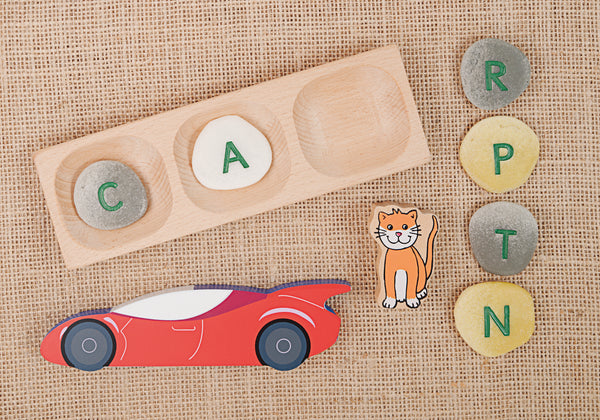 Yellow Door Education: Alphabet Pebbles - Uppercase - Letter activities for kids 1
