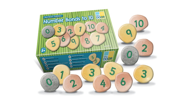 Number Pebbles - Number Bonds 1 to 10 - Small Eco Steps