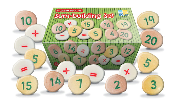 Number Pebbles - Sum Building Set - Small Eco Steps