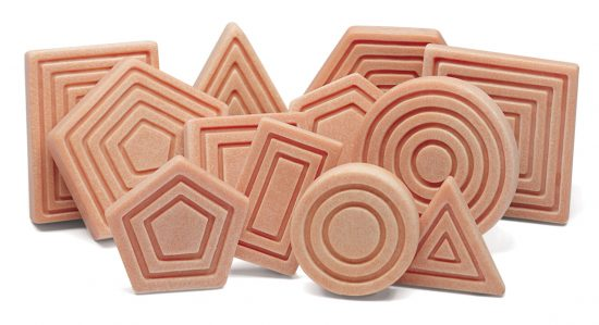 Interlocking Sensory Shapes - Small Eco Steps