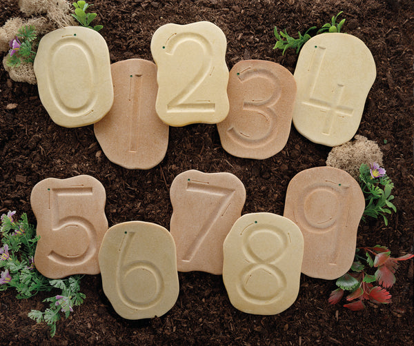 Feels-Write Number Stones - Small Eco Steps
