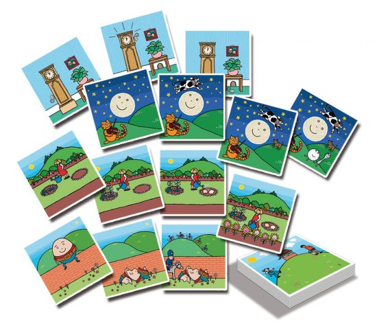 Nursery Rhyme Sequencing Cards - Small Eco Steps