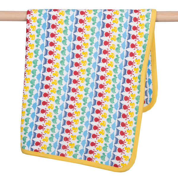 Kite Splash Stripe Cuddle wrap