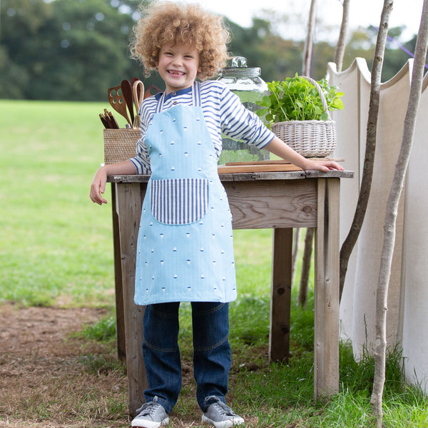 Kite Little Boats Apron