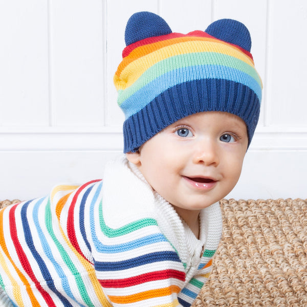 Kite Rainbow Knit Hat