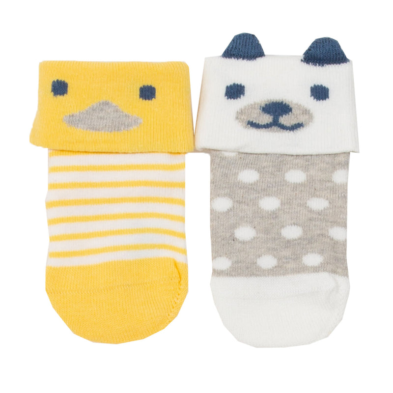 Kite Pup and duck socks