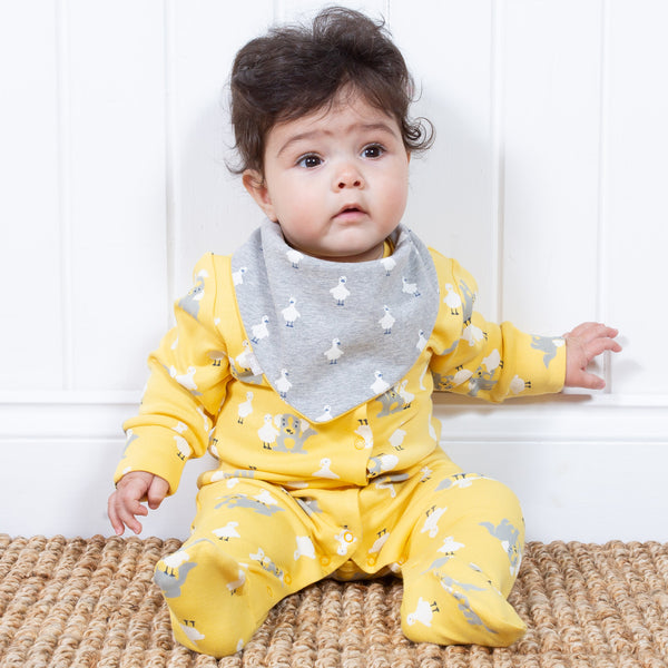 Kite Pup and Duck Sleepsuit