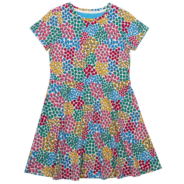 Kite Ladybird Ditsy Skater dress