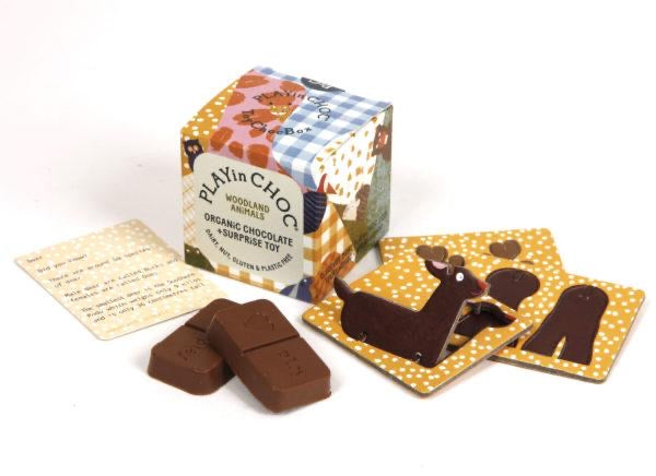 Play in Choc Organic Chocolate & Surprise Toy