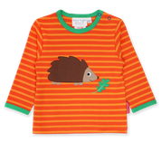 Hedgehog Applique L/s T-Shirt