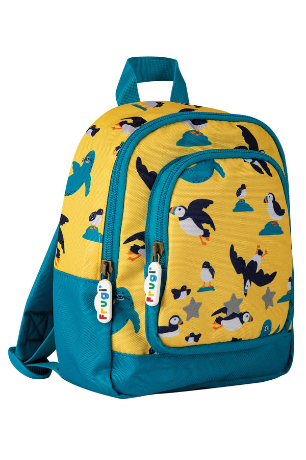 Sunflower Puffing Away Little Adventurers Backpack