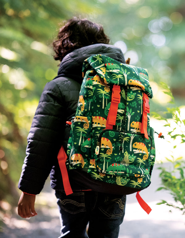 Frugi Chameleon Forest Trail Blazing Backpack