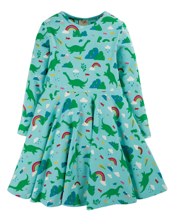 Shore Blue Nessie Skater Dress