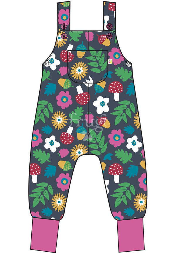 Frugi indigo lost words parsnip dungarees organic kids clothes