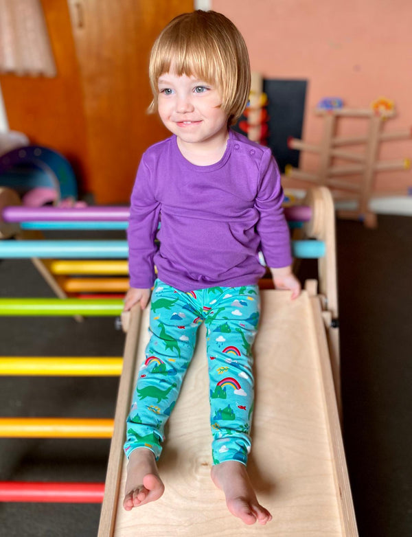 Shore Blue Nessie Libby Printed Leggings