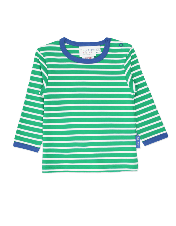 Green Breton Long Sleeved T-shirt
