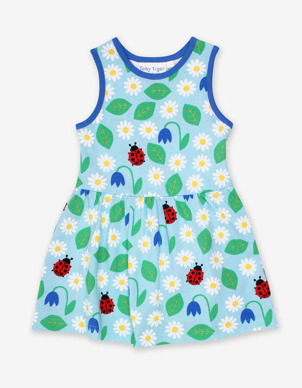 Toby Tiger Organic English Garden Print Summer Dress