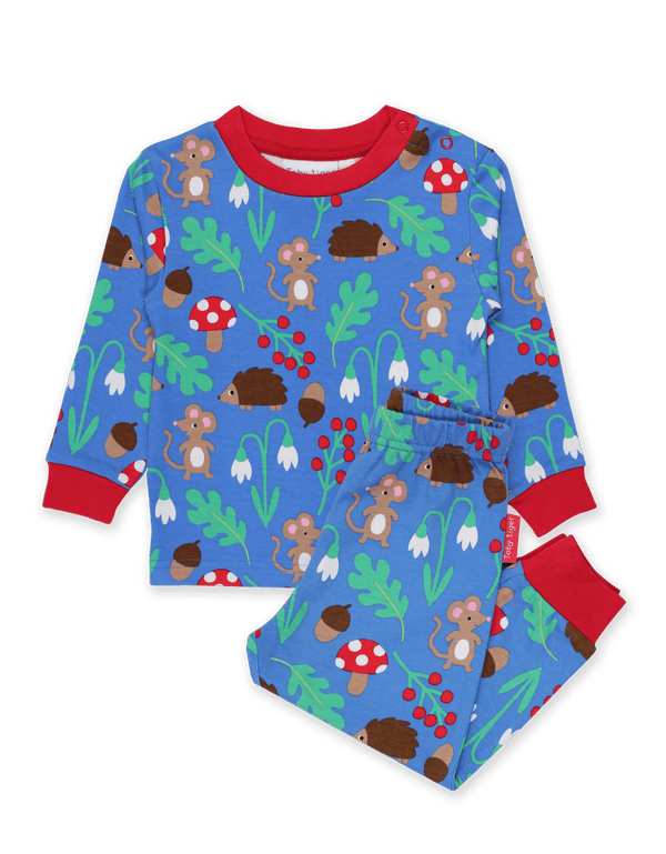 Woodland Print Long Sleeved Pyjamas
