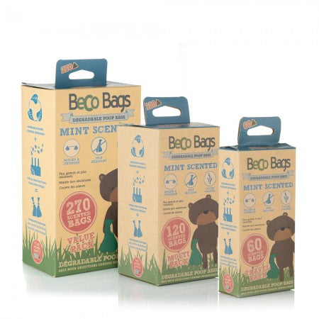 Mint Scented Degradable Poop Bags - Small Eco Steps
